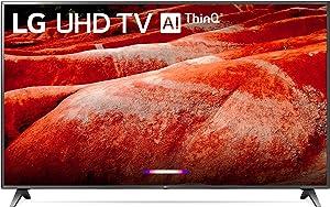 """LG 86UM8070PUA 86"""" 4K Ultra HD Smart LED TV (2019), Black"""