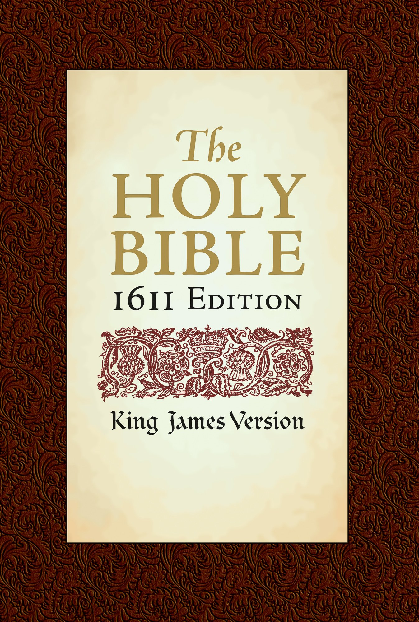 Holy Bible: King James Version, 1611 Edition: Hendrickson Publishers:  9781565638082: Amazon.com: Books