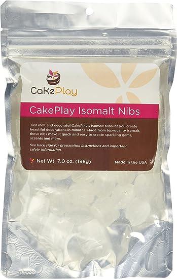 CakePlay Saphire Pink Isomalt Nibs