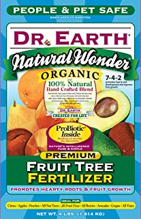 product image for Dr. Earth 708 Organic 9 Fruit Tree Fertilizer, Boxed, 4-Pound