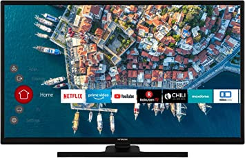 HITACHI F32E4100 - Televisor de 80 cm/32 pulgadas (Smart TV, incluye Prime Video/Netflix/YouTube, Full HD, Bluetooth, Works with Alexa, PVR-Ready, sintonizador triple): Amazon.es: Electrónica