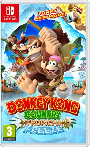 Donkey Kong Country: Tropical Freeze: Nintendo: Amazon.es ...