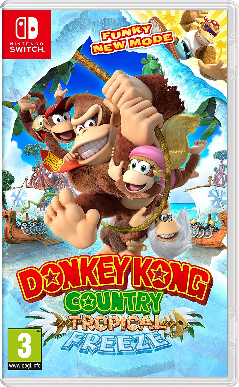 Donkey Kong Country Tropical Freeze Nintendo Amazon Es Videojuegos