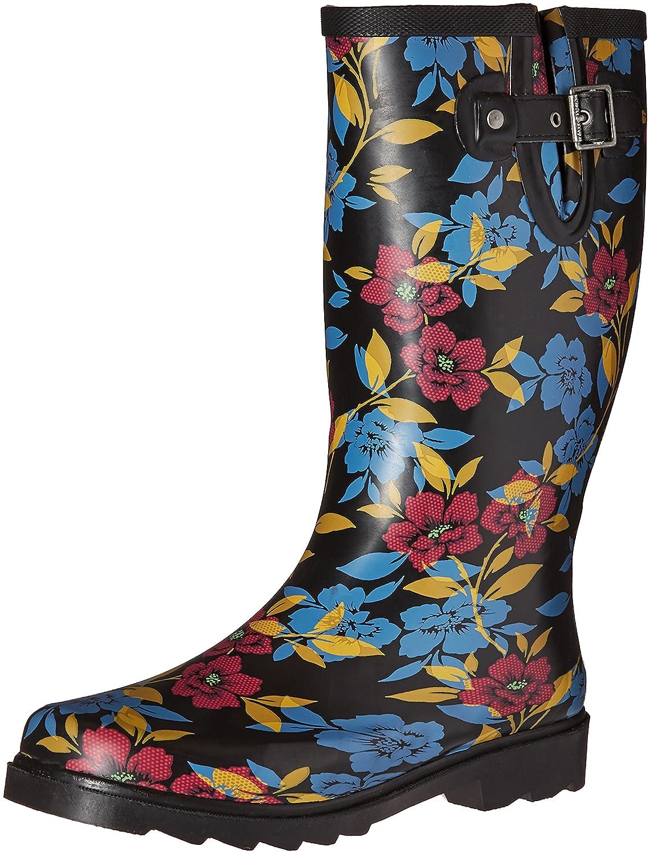 Chooka Women's Tall Rain Boot B01BUEPNGU 8 B(M) US|Bohemian Night