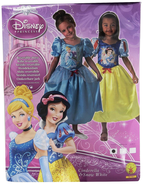 Rubies - Disfraz Blancanieves de niña, talla S a partir de 3 años (I-881861S)