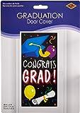 Congrats Grad Door Cover Party Accessory (1 count) (1/Pkg)