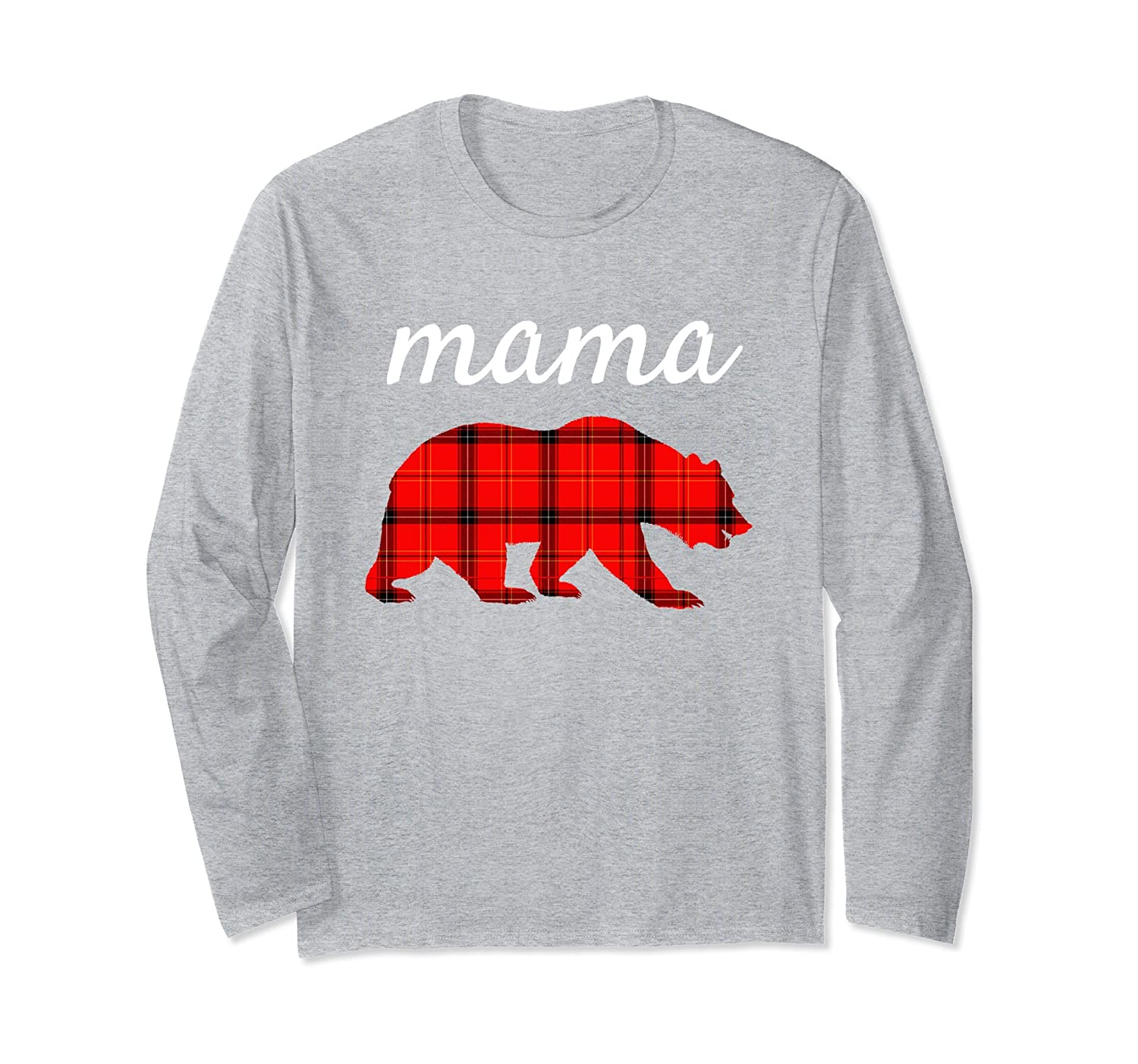 4f3be17a Mama Bear Papa Bear Shirt Mama Bear Plaid Long Sleeve Shirt-ah my shirt one