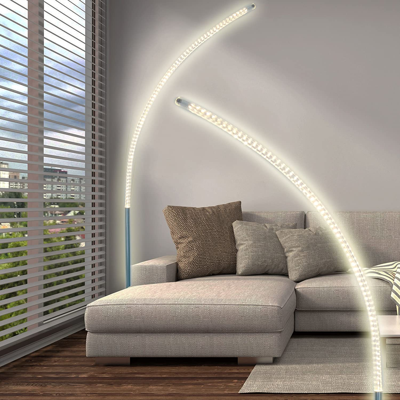 Stehlampe Gebogen Stand Leuchte Led Stehleuchte Stand Design Lampe