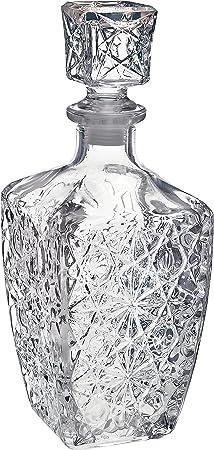 Decantador de Bormioli Rocco,Cristal tallado de transparencia perfecta,800ml. Alto: 24cm,Parte de