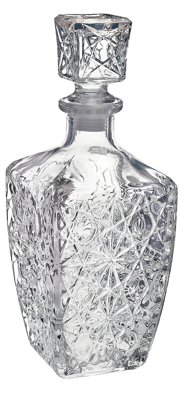 Bormioli Rocco Glass Decanter for Spirits, Dedalo (800ml/28oz) FBA_284490GQ1021990