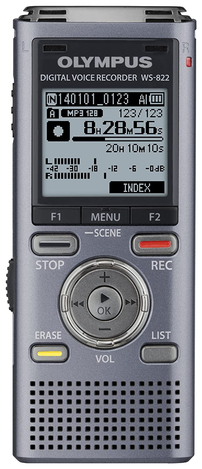 Amazon.com: Olympus WS-822 GMT Voice Recorders with 4 GB Built-In-Memory:  Electronics