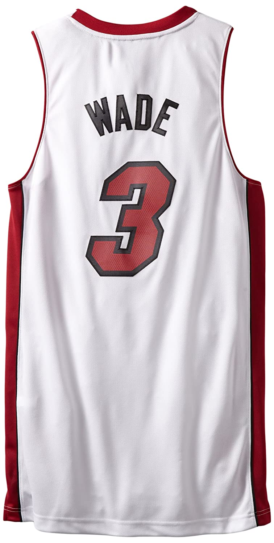 054d03bc535 Amazon.com : NBA Miami Heat Dwayne Wade Swingman Jersey, White, XX-Large :  Sports Fan Jerseys : Sports & Outdoors