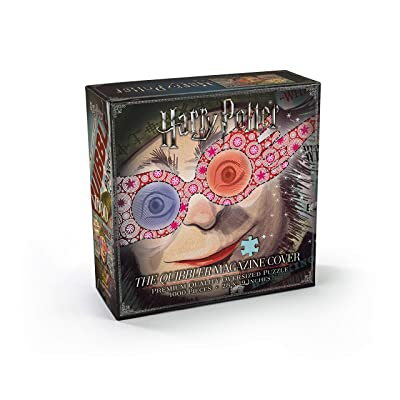 The Noble Collection Harry Potter Quibbler Magazine Cover Puzzle: Toys & Games