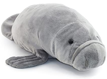 Amazon viahart morgan the manatee 17 inch stuffed animal viahart morgan the manatee 17 inch stuffed animal plush sea cow by tiger tale publicscrutiny Choice Image