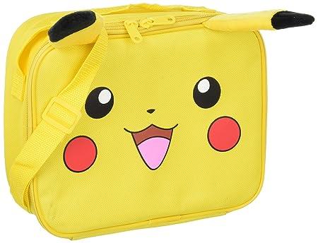 fd1028375978 Lunch Bag - Pokemon - Pikachu Face Kids School Case New 837742-2   Amazon.co.uk  Toys   Games