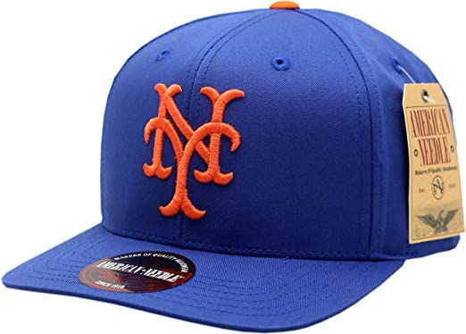 a9a32cef2dfaf Image Unavailable. Image not available for. Color  American Needle New York  Mets Snapback Flat Bill Outfield