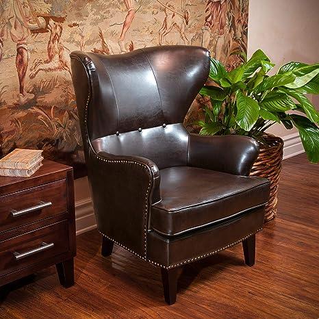 Amazon.com: Mejor venta de hogar Montecito sillón, Marrón ...