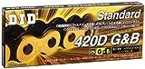 D.I.D(大同工業)バイク用チェーン クリップジョイント付属 420D-116RB G&B(ゴールド&ブラック) 二輪 オートバイ用