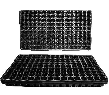 25 enciende las bandejas de plástico Semilla - Cada bandeja tiene 160 células Las células se