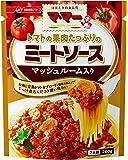マ・マー トマトの果肉たっぷりのミートソース マッシュルーム入り 260g