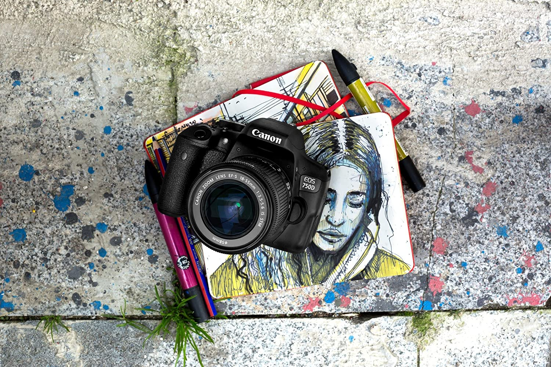 Canon EOS 750D Cuerpo de la cámara SLR 24.2MP CMOS 6000 x ...
