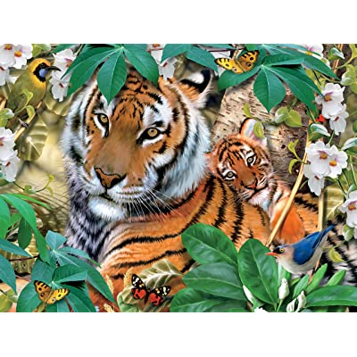 Harmony - Tigers Jigsaw Puzzle, 550 Pieces: Toys & Games