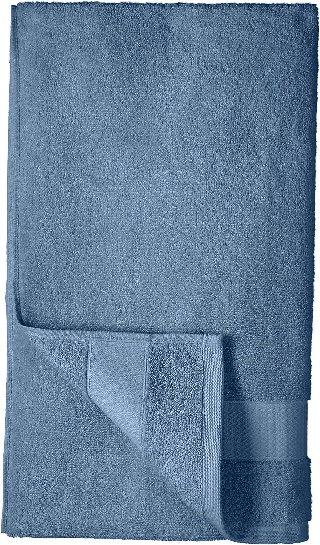 Basics Toallas de uso diario 2 de ba/ño Azul aciano