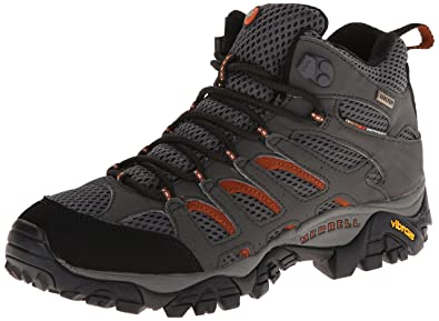 Merrell Moab Mid Gore Tex Chaussures de randonnée Hommes Beluga M: