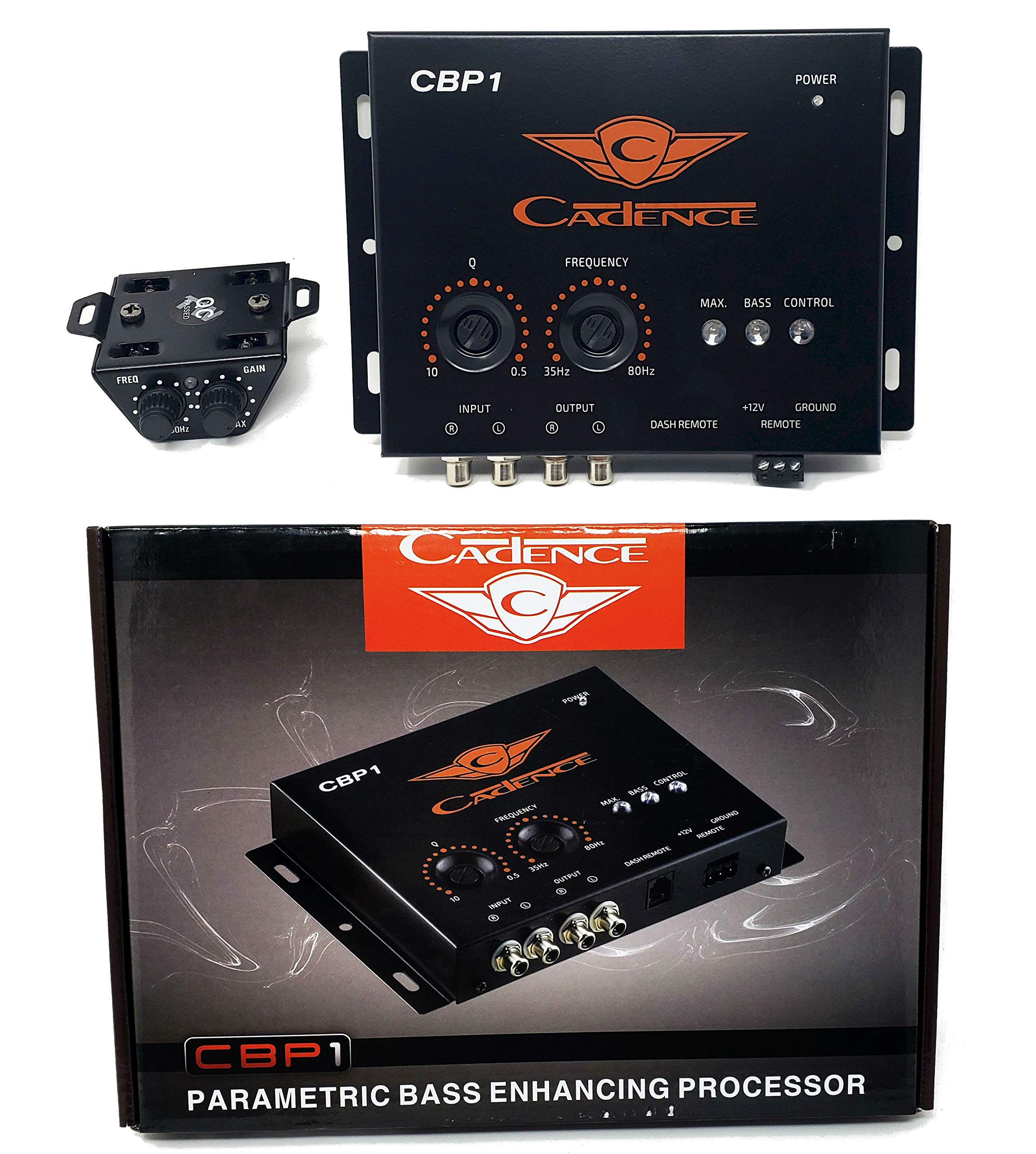 Cadence Acoustic CBP1 Digital Bass Processor BOOST RECONSTRUCTION PROCESSOR EPICENTER by Cadence Sound