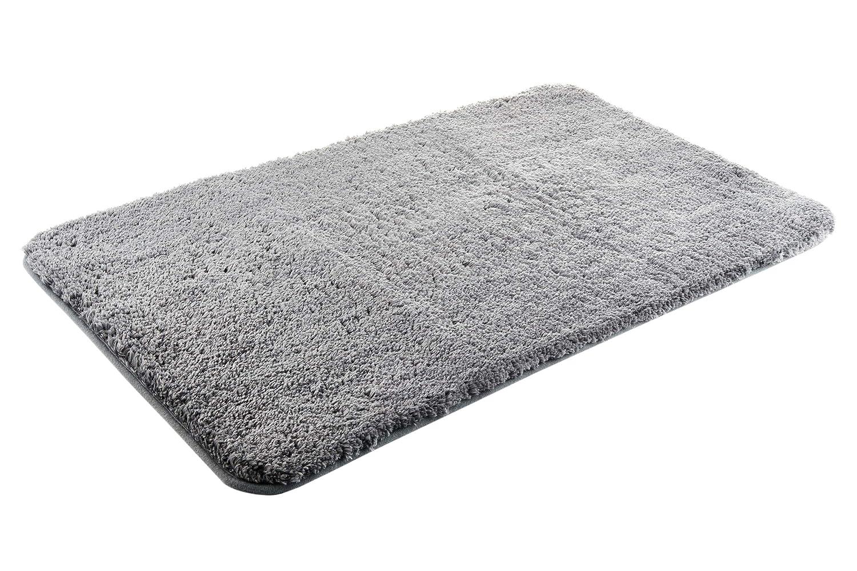 per bagno e doccia Lussuoso tappetino da bagno in microfibra super morbido facile da pulire di alta qualit/à assorbente antiscivolo asciugatura rapida