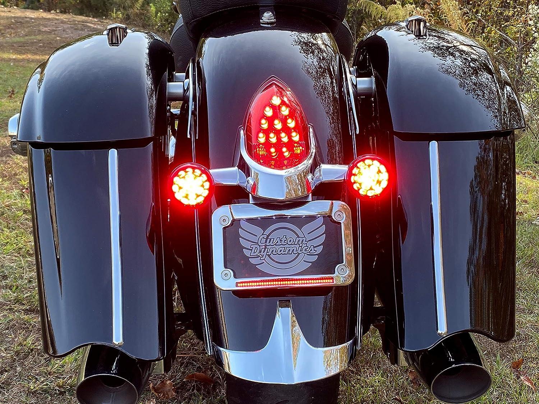 Indian Motorcycle License Plate Frame Black