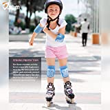 JBM Protective Gear Knee and Elbow Pads Support