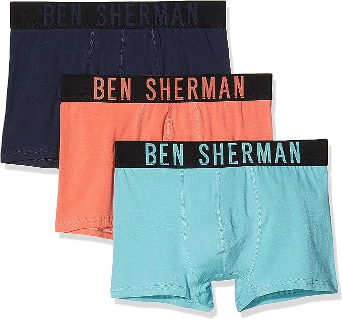 Ben Sherman Beech Bóxer, Multicolor (Coral/Navy/Turquoise PKA ...