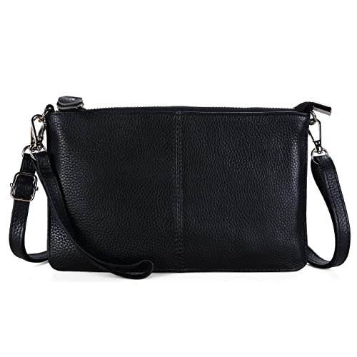 3fcd08c66b9 Befen Women's Leather Wristlet Mini Crossbody Bag, Small Shoulder Bag  Clutch Purse with Card Slots