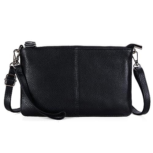 Amazon.com: Befen, billetera con pulsera de piel para mujer ...