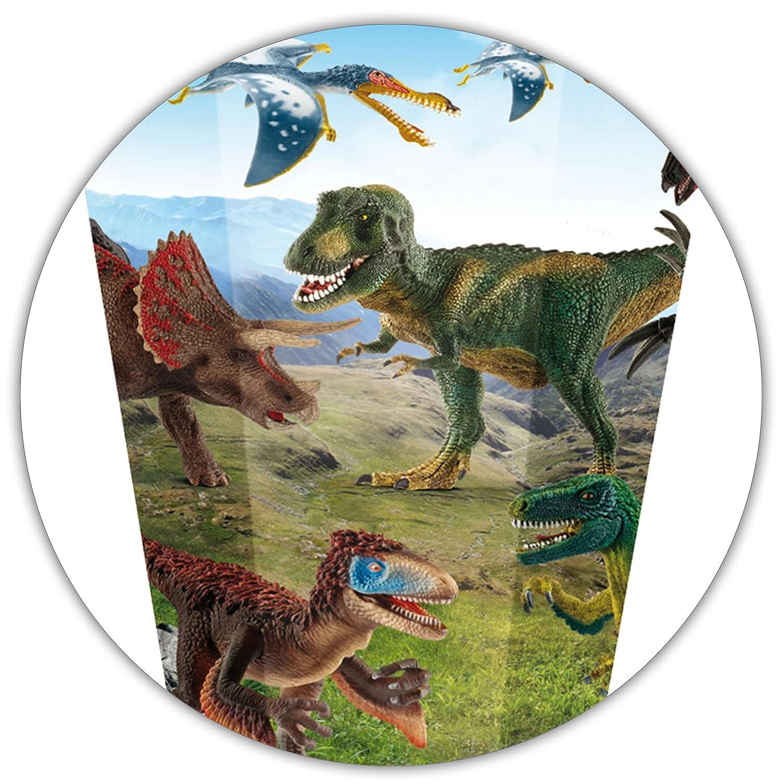 Alles-meine  GmbH 10 Stück _ Schultüten Schultüten Schultüten -  Dinosaurier - Schleich Dinosaurs   Dino  - 50 cm - rund - incl. individueller Schleife - mit Namen - mit Tüllabschluß - Zuckertüte .. B07CZF76Z2 | Hohe Qualität und geringer Aufwand  |  6fa3b1