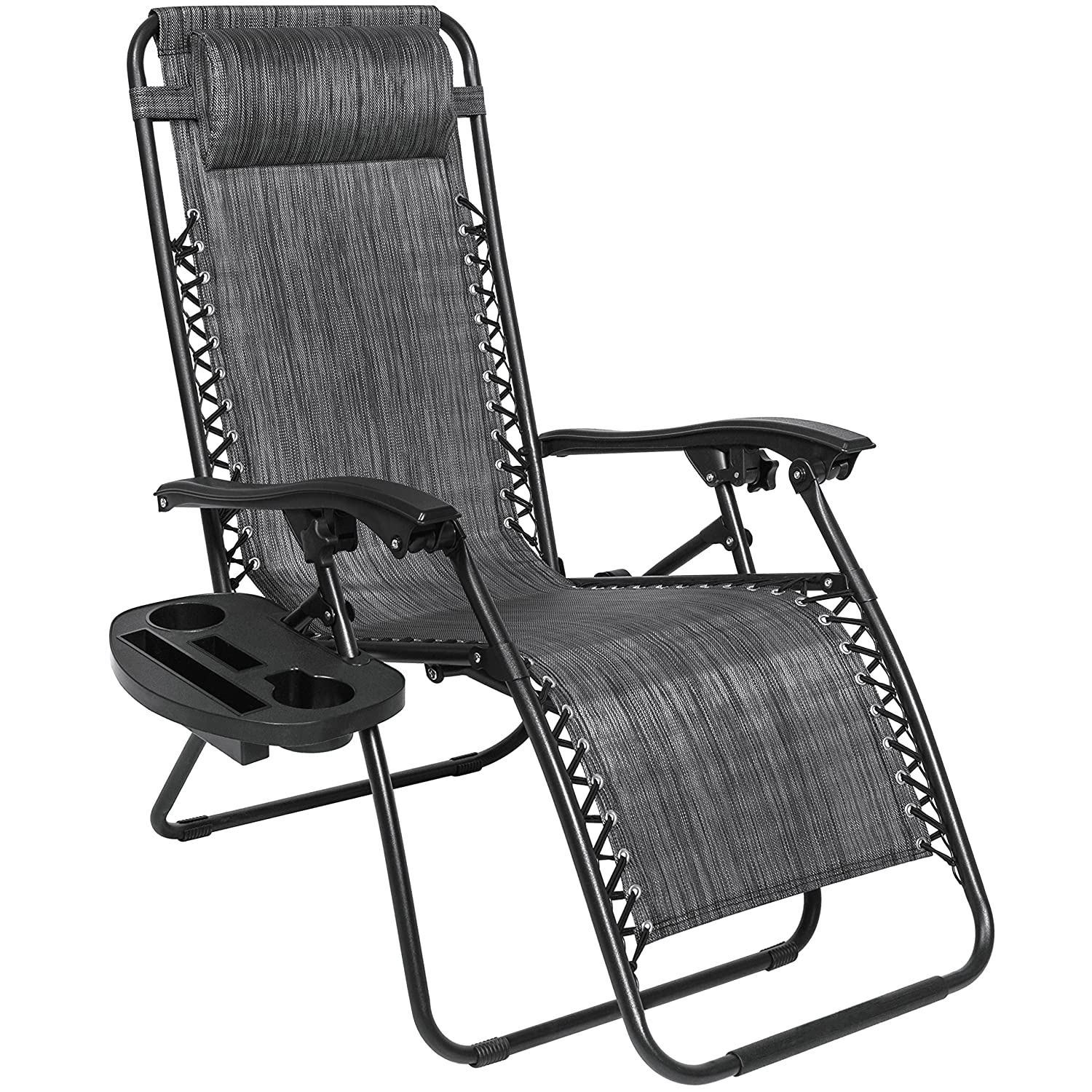 best choice products set of 2 adjustable zero gravity lounge chair recliners ebay. Black Bedroom Furniture Sets. Home Design Ideas