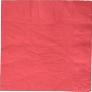 Apple Red 2-Ply Dinner Napkins   Pack of 20   Party Supply
