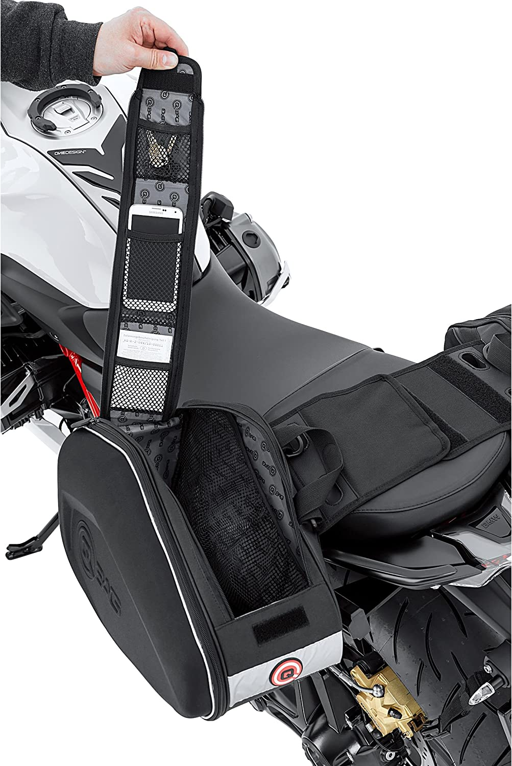 QBag Motorcycle Saddlebags