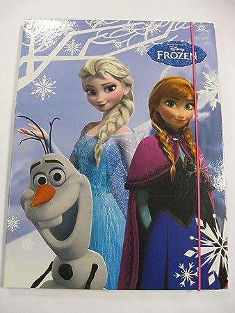 Cartelletta 3 Lembi Disney Frozen