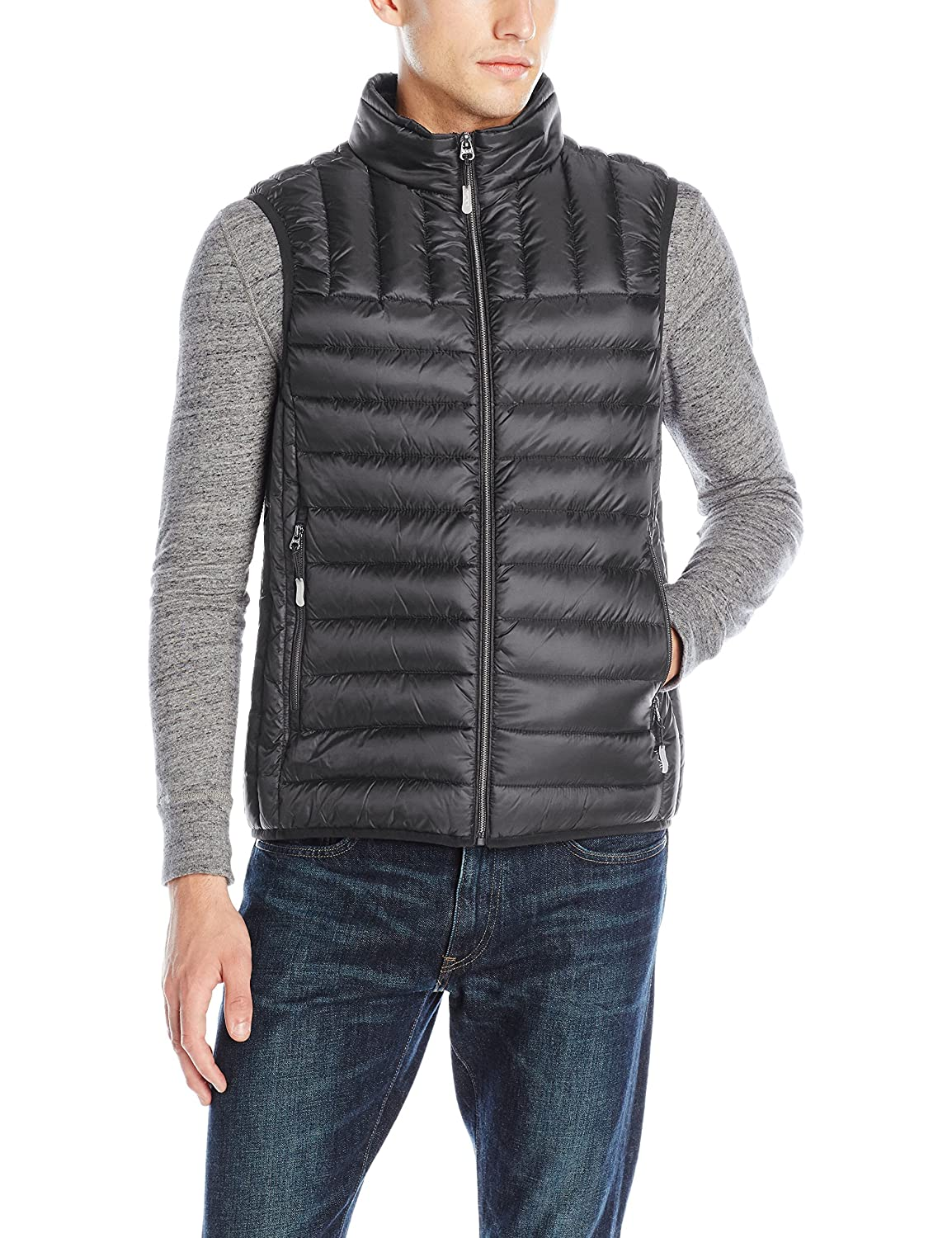 Tumi Men's Packable Puffer Vest Tumi Men' s Outerwear (Weatherproof) F67125