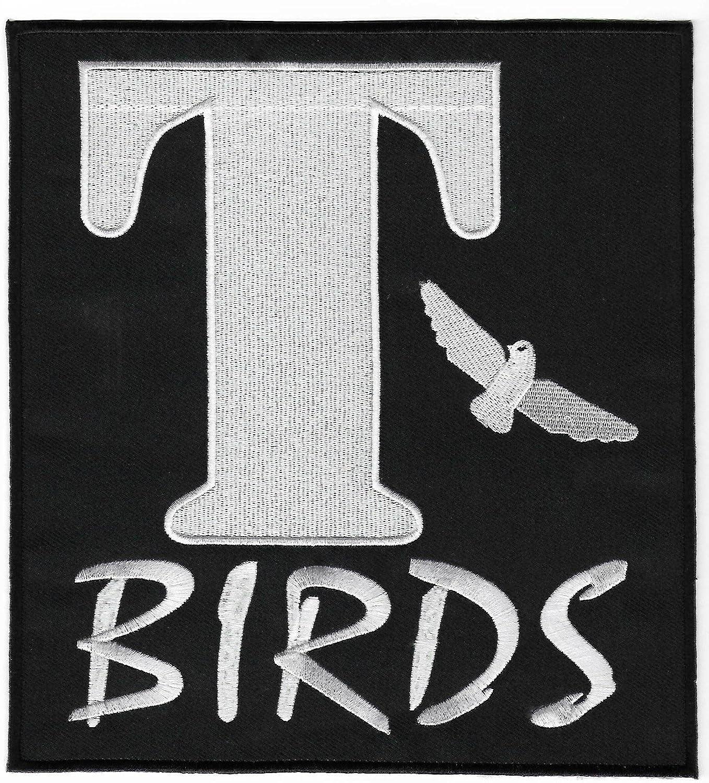 T-Birds Parche XL 20 cm bordado de hierro sobre insignia Applique ...