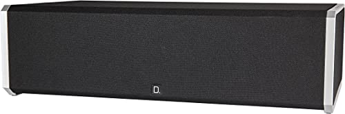 Definitive Technology CS-9040 Center Channel Speaker Built-in 8 Bass Radiator for Home Theater High Performance Premium Sound Quality Single, Black