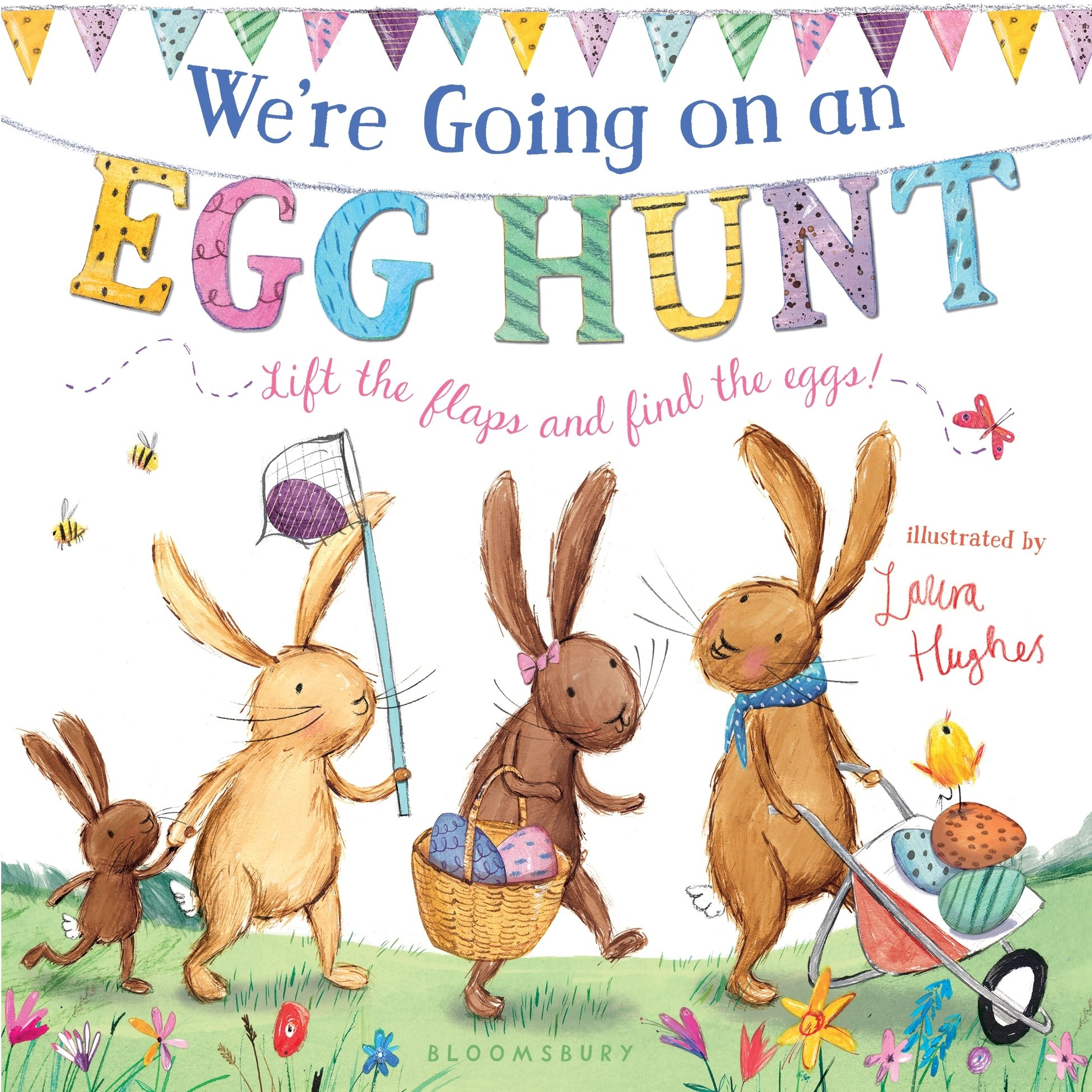 We're Going on an Egg Hunt: Amazon.co.uk: Hughes, Laura: Books