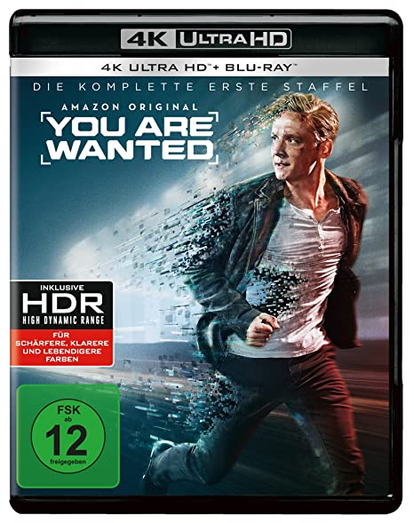 You Are Wanted - Die komplette 1. Staffel (2 Blu-rays 4K Ultra HD) (+ 2 Blu-rays 2D)