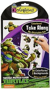 Colorforms Take Along Teenage Mutant Ninja Turtles