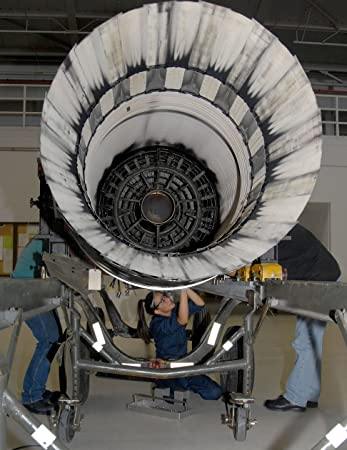 Amazon|P & W f100-pw-220 Turbofanエンジン|アートフレーム ...