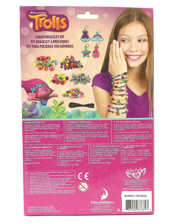 Amazon: Fashion Angels Trolls Mini Charm Bracelet Kit: Toys & Games
