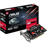 ASUS AMD RX 550 RX550-4G 128-Bit GDDR5 Memory DisplayPort/HDMI/DL-DVI-D PCI Express Graphics Card - Black