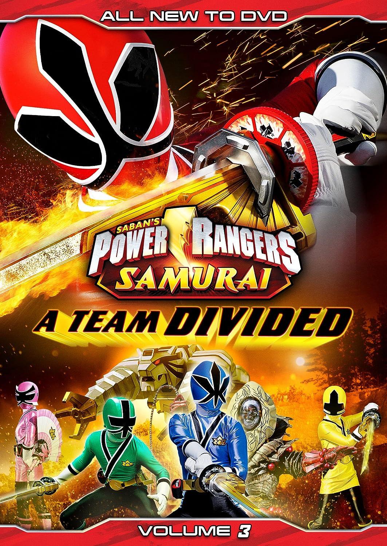 Amazoncom Power Rangers Samurai A Team Divided Vol 3 DVD